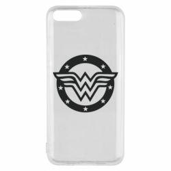 Чехол для Xiaomi Mi6 Wonder woman logo and stars