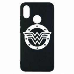 Чехол для Xiaomi Mi8 Wonder woman logo and stars