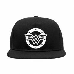 Снепбек Wonder woman logo and stars