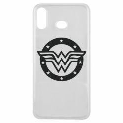 Чехол для Samsung A6s Wonder woman logo and stars
