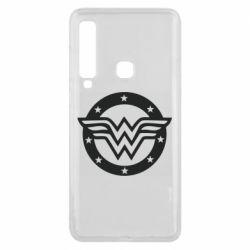 Чехол для Samsung A9 2018 Wonder woman logo and stars