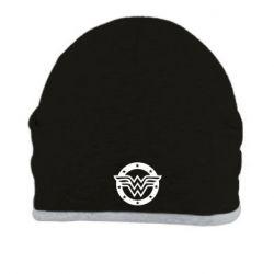 Шапка Wonder woman logo and stars
