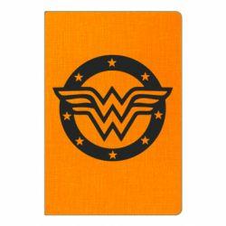 Блокнот А5 Wonder woman logo and stars