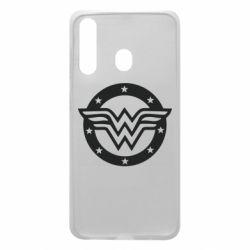 Чехол для Samsung A60 Wonder woman logo and stars