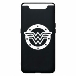 Чехол для Samsung A80 Wonder woman logo and stars