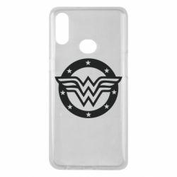 Чохол для Samsung A10s Wonder woman logo and stars