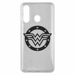 Чохол для Samsung M40 Wonder woman logo and stars