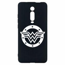 Чехол для Xiaomi Mi9T Wonder woman logo and stars