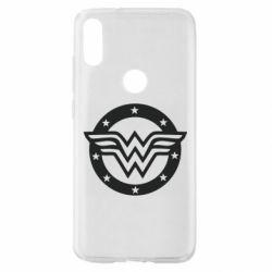 Чехол для Xiaomi Mi Play Wonder woman logo and stars