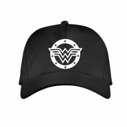 Детская кепка Wonder woman logo and stars