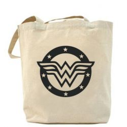 Сумка Wonder woman logo and stars