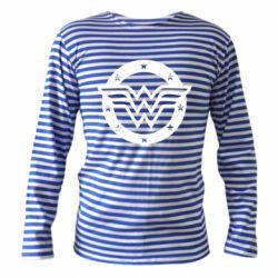 Тільник з довгим рукавом Wonder woman logo and stars