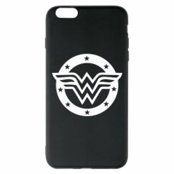 Чохол для iPhone 6 Plus/6S Plus Wonder woman logo and stars