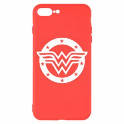 Чехол для iPhone 7 Plus Wonder woman logo and stars