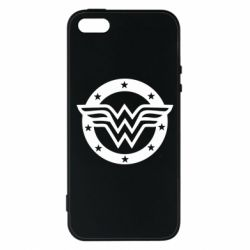 Чохол для iphone 5/5S/SE Wonder woman logo and stars