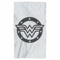 Рушник Wonder woman logo and stars