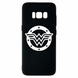 Чехол для Samsung S8 Wonder woman logo and stars