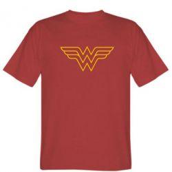 Мужская футболка Wonder Woman Logo - FatLine
