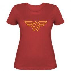 Женская футболка Wonder Woman Logo - FatLine