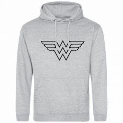Мужская толстовка Wonder Woman Logo - FatLine