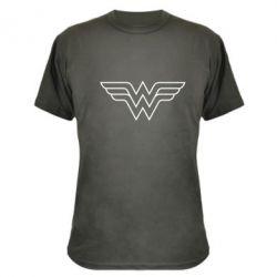 Камуфляжная футболка Wonder Woman Logo - FatLine
