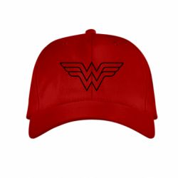 Детская кепка Wonder Woman Logo - FatLine
