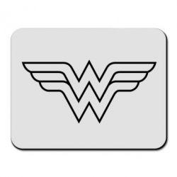 Коврик для мыши Wonder Woman Logo - FatLine