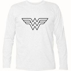 Футболка с длинным рукавом Wonder Woman Logo - FatLine