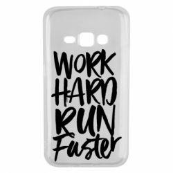 Чохол для Samsung J1 2016 Work hard run faster