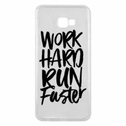 Чохол для Samsung J4 Plus 2018 Work hard run faster