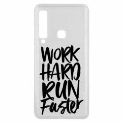 Чохол для Samsung A9 2018 Work hard run faster