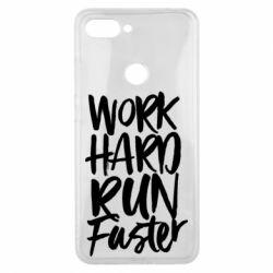 Чохол для Xiaomi Mi8 Lite Work hard run faster