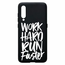 Чохол для Xiaomi Mi9 Work hard run faster