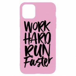 Чохол для iPhone 11 Pro Max Work hard run faster