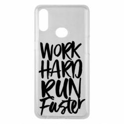 Чохол для Samsung A10s Work hard run faster