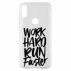 Чохол для Xiaomi Mi Play Work hard run faster