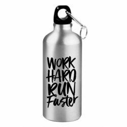 Фляга Work hard run faster