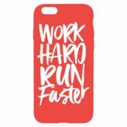 Чохол для iPhone 6/6S Work hard run faster