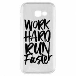 Чохол для Samsung A5 2017 Work hard run faster