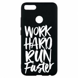 Чохол для Xiaomi Mi A1 Work hard run faster