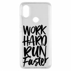 Чохол для Xiaomi Mi A2 Work hard run faster