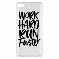 Чохол для Xiaomi Mi 5s Work hard run faster