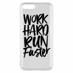 Чохол для Xiaomi Mi6 Work hard run faster
