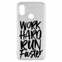 Чохол для Xiaomi Mi8 Work hard run faster