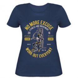 Жіноча футболка Work Out Everyday