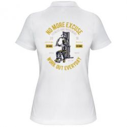 Жіноча футболка поло Work Out Everyday