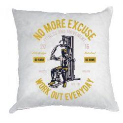 Подушка Work Out Everyday
