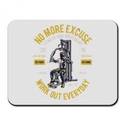 Килимок для миші Work Out Everyday