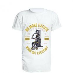 Подовжена футболка Work Out Everyday
