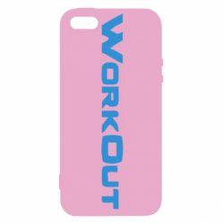Чохол для iphone 5/5S/SE Workout